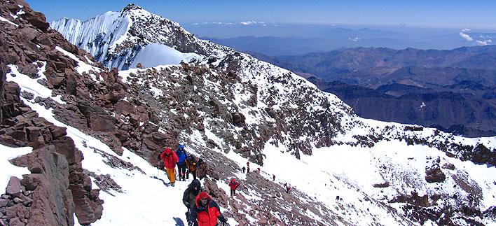Climb Aconcagua by the...